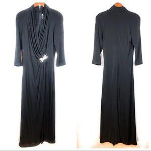 Tadashi Formal Maxi Dress C16